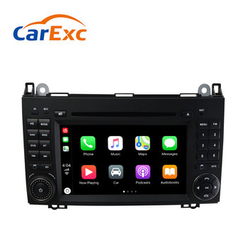 Android 9.0 Autoradio Built-in CarPlay For Mercedes Sprinter Benz B200 B-class Viano Vito W639 W169 B170 W245 DVD GPS Navigation image