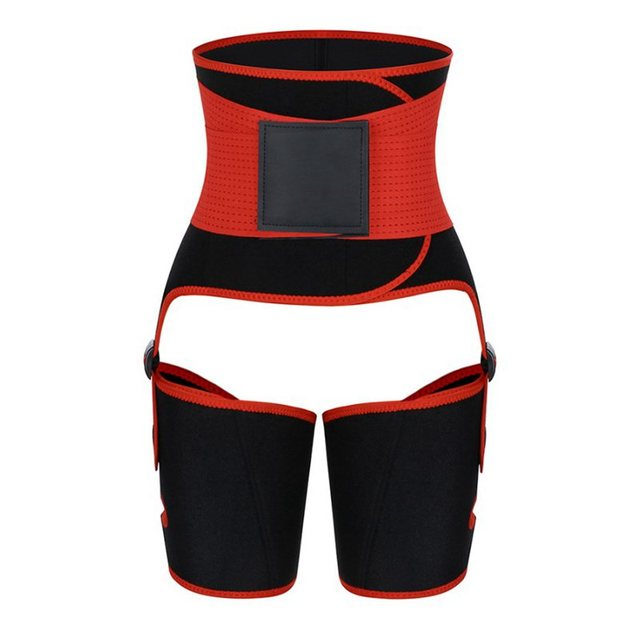2020 Newest Neopreme Slim Thigh Trimmer Butt Lifter Leg Shaper Fat Burning Compress Waist Trainer Belt Sweat Shapewear Orange 3