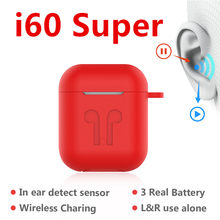 Baru I60 Super Tws Wireless Earphone 6D Super Bass Bluetooth 5.0 Earphone PK I10 Tws I12 I30 I200 I9000tws(China)