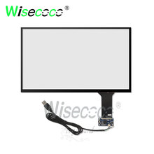 купить wisecoco capacitive touch screen 15.6 inch 2k 4k each resolution universal ,for 15.6 inch lcd screen, kiosk etc free shipping по цене 2605.9 рублей