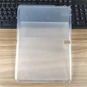 SM-P600/P601 étui pour samsung Galaxy Note 2014 édition 10.1 P600 P601 P605 housse de Protection en Silicone souple Transparent