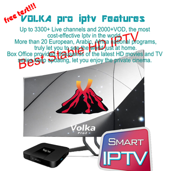 Android tv box VOLKA PRO Iptv Subscription french arabic