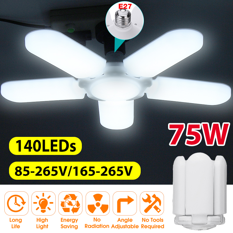 Super Bright Industrial Lighting75W…