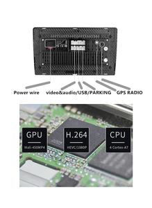 Image 5 - Mini 9 inç 2.5D eğrisi ekran Tablet Pajero Pinin park kamerası uygun MONTERO Io Mini navigasyon ses sistemi 4*50W