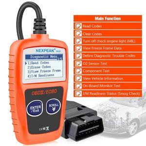 Image 2 - Nx201 leitor de código obd2 scanner carro ms309 ferramenta de diagnóstico automático obd 2 carro diagnóstico do motor leitor de código melhor então elm327 obd
