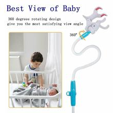 Baby360 Degreee Rotating The Most Satisfying View Angle Camera Monitor Bracket Crib Universal Security Camera Bracket(China)
