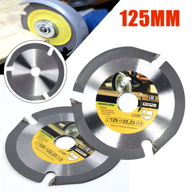 125mm 3T Circular Multitool Grinder Blade Disc Wood Cutting Drilling Wheel 1x