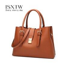 ISXTW 2019 Women  Bags Leather Casual Handbags Female Designer Bag Vintage Big Size Tote Shoulder High Quality Bolsos/B28