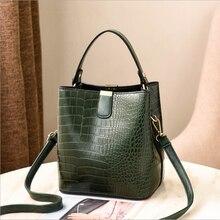 цена на Crocodile Skin Bag Women 2020 Bag Handbag Female Bag Women's Leather Bag Women's Messenger Bag The Single Shoulder Bag High-capa