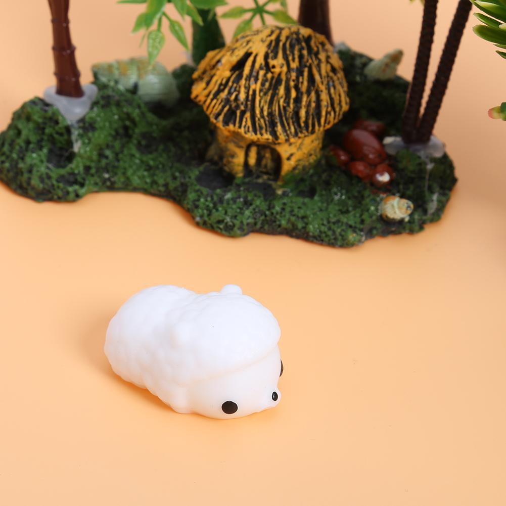Cute Mini Squeeze Animal Doll Toy Soft Anti Stress Mochi Seal Healing Squeeze Fun Joke Stretchy Toy For Kids