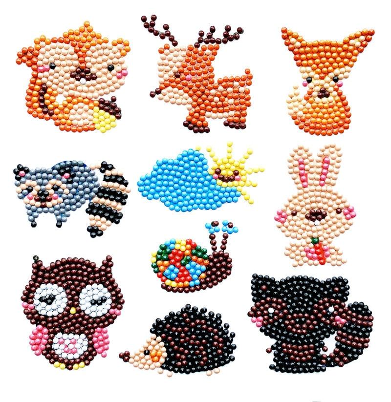 Children DIY Diamond Painting Kids Diamond Stickers Birthday Gift Toy Phone Cup Notebook Decoration Educational Children's Toys