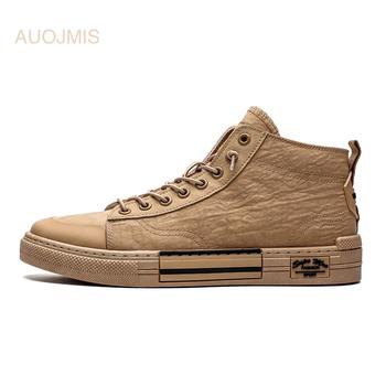 Wycofać tenisówki męskie wysokiej tenisówki męskie buty męskie buty typu tide męskie buty letnie 2019 nowe oddychające buty męskie tanie i dobre opinie AUOJMIS Płótno Stałe Oddychająca Pot-chłonnym light Wytrzymałe Antyzapachowej Pasuje prawda na wymiar weź swój normalny rozmiar