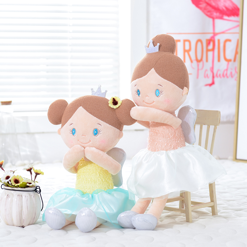 Baby Cloth Toys Kids Rag Dolls Baby Girl Gifts Toddler Plush Toys Just6F