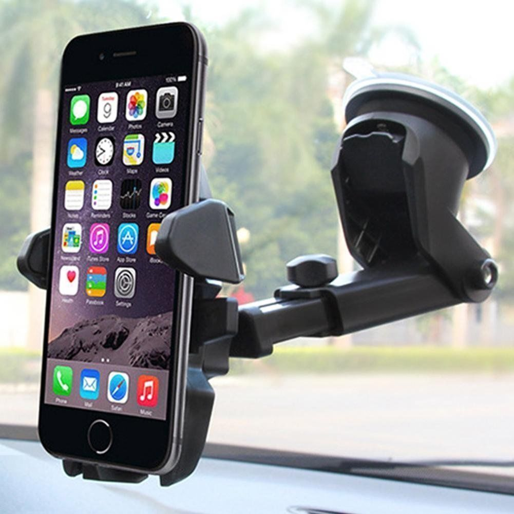 360° Universal Car Windscreen Dashboard Holder Mount For GPS PDA Mobile Phone Osculum Type Lazy Phone Holder