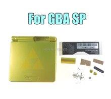 10 סטים\חבילה קריקטורה מהדורה מוגבלת מלא שיכון מעטפת עבור Nintendo Gameboy Advance SP עבור GBA SP משחק קונסולת כיסוי מקרה