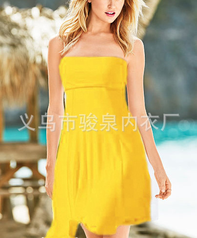 Hot Selling Beach Skirt Bikini Blouse Variety Way Of Dressing Guo Xiong Qun Flexible Beach One-piece Dress