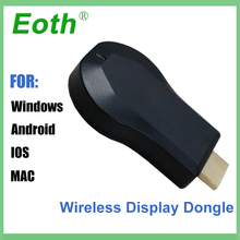 TV Dongle AnyCast Airplay 1080P Wireless WiFi DLNA mirascreen HD Stick streamers for Android Miracast tv ios