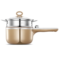 Multi-Functional Electric Cooker Household Electric Hot Pot Students Dormitory Mini Small Electric Small Three-In-One Breakfast