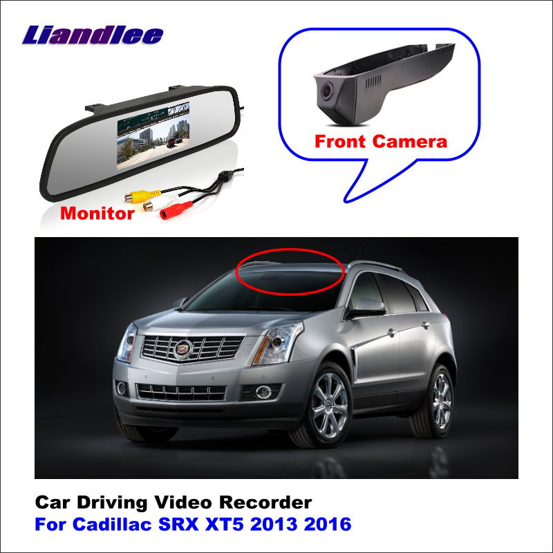 Liandlee Car DVR Wifi Video Recorder Dash Cam Camera For Cadillac SRX XT5 2013 2016 Night Vision APP image