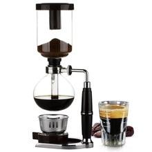 Japanse Stijl Sifon Koffiezetapparaat Thee Sifon Pot Vacuüm Koffiezetapparaat Glas Type Koffiezetapparaat Filter Kahve Makinas 3cup