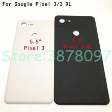 Di alta Qualità Per Google pixel 3 pixel 3 XL Caso di 3D di Vetro Della Copertura Posteriore Della Batteria Posteriore Dellalloggiamento Della Copertura + Adesivo di ricambio