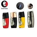Guevara Серебряный винтажный медный одиночный фонарь Зажигалка для сигарет