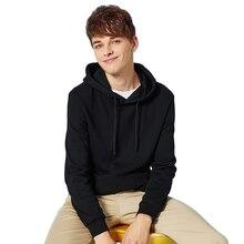 SEMIR Thermal Hooded Sweatshirt for Men 2020 Cotton Pullover Hoodie Sport Sweatshirt Pocket Casual spring Autumn Hoodies Men