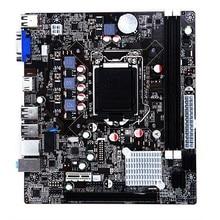 Новейший процессор Intel H61 разъем LGA 1155 Материнская плата mикро ATX 16 Гб 2 DDR3 1600 1333 1066 для Ксеон i3 i5 i7 LGA1155 CPiU материнская плата