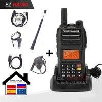 Quansheng-walkie talkie Original TG-UV2 Plus, Radio de 10W, 10 KM, actualización de tg-uv2, 10W
