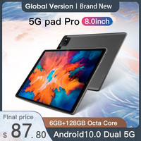 Tablet Android 10 6GB RAM 128GB ROM Tablet 8.0 pollici Tablet MTK6788 Octa CoreTableta Android 10.0 Tablete Dual Wifi Tablet PC