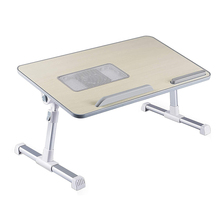Multifunction Simple Folding Laptop Desk With Cooling Fan Lifting Small Table Dormitory Computer Table BedDesk 2021 New