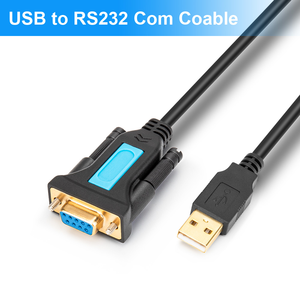 USB Cable To Rs232 Female COM Port USB To Rs232 Serial Cable Adapter For Mac OS Windows 7 8 USB Computer Cable