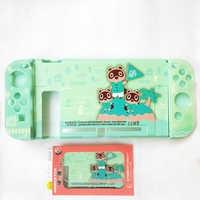 Mate, PC, funda dura Animal Crossing funda protectora Shell para Nintendo Switch Console NS Joy-con Crystal Protector de cuerpo completo