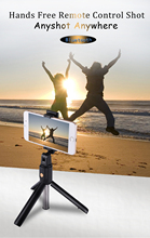 BOUTH K07 Mini Selfie stick  tripod mobile phone with bluetooth  smart foldable tripod for iPhone and Android