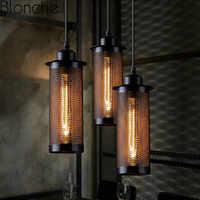 Lampes suspendues nordiques rétro lampes suspendues industrielles modernes pour salle à manger Bar Restaurant hôtel décor éclairage Loft Luminaires