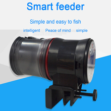 LCD Electronic Smart Automatic Fish Feeder Dispenser Timer Tank Food Feeding Machine Aquarium Auto