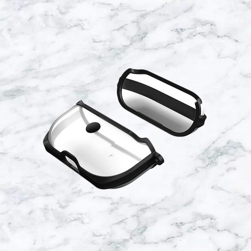 Купить прозрачный мягкий защитный чехол для наушников airpods pro3