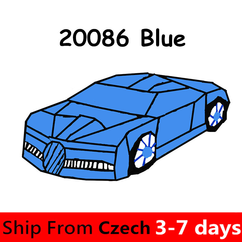 20086 Lepinblocks Technic Series Cars ชุด Building Blocks อิฐ Creator Bugattied ใช้งานร่วมกับ 42083 42056 อิฐของเล่น-ใน บล็อก จาก ของเล่นและงานอดิเรก บน   1