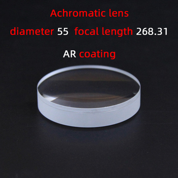 Diameter55 Focal length268.31 achromatic lens factory custom telescope lens magnifier various sizes