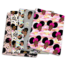 Tissue Sewing-Doll Patchwork Cotton-Fabric Home-Textile Black Princess Dress Curtain-1yc14206