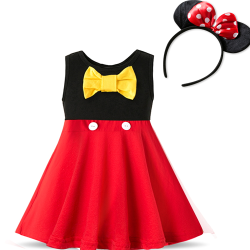 Hd6839a8a7d3345adbf33cdbb7c4cdf679 Fancy Kids Dresses for Girls Birthday Easter Cosplay Minnie Mouse Dress Up Kid Costume Baby Girls Clothing For Kids 2 6T Wear