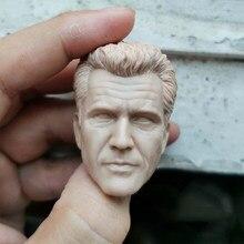 1/6 mel colúcille gerard gibson sem pintura cabeça modelos para 12'figures figuras corpos brinquedos presentes