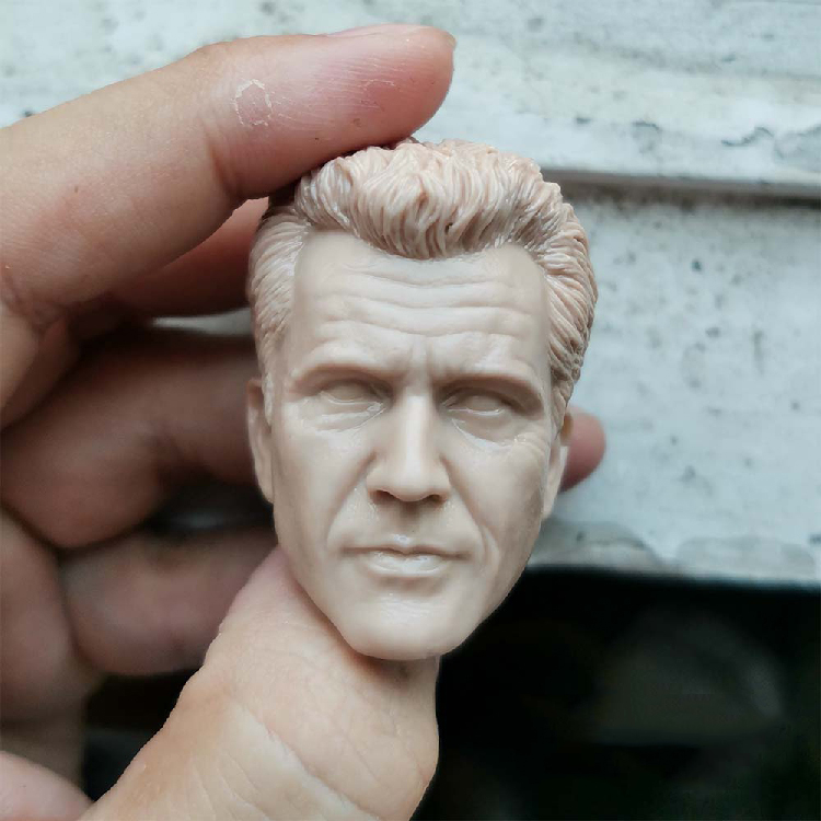 1/6 mel colúcille gerard gibson sem pintura cabeça modelos para 12figures figuras corpos brinquedos presentes