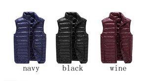 Image 5 - NewBang Chaleco ultraligero para hombre, 6xl, 7xl Plus, portátil, sin mangas, ligero, cálido, chaqueta de plumas de pato blanco