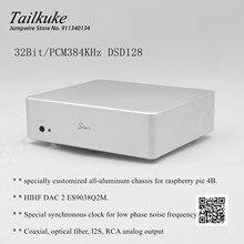 Reproductor de red RD38 Dual 9038 Q2M Pi4, fibra Coaxial IIS I2S DAC