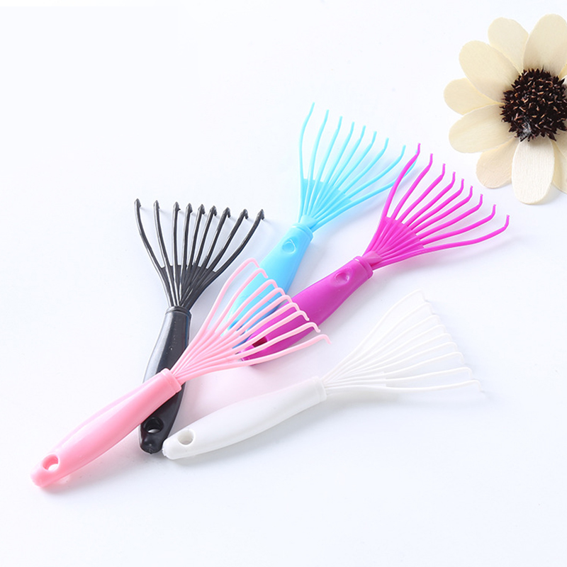 Hot Sale 1 Pcs Plastic Hair Brush Cleaner Mini Hair Comb For Cleaning Small Hair  Brush Beauty Tools In Random Color