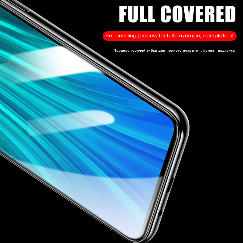 2 in 1 HD Full Protective Clear Screen Tempered Glass Lens For Xiaomi Redmi