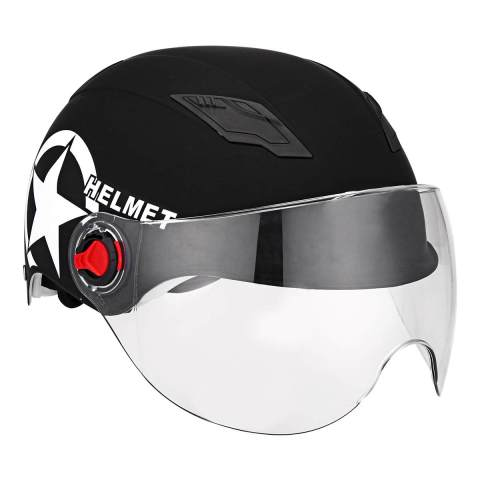 Cycling Helmet Half Open Face Motorcycle Helmets Road Bike Dual Lens Face Head Protective Gears Women/Men Lahore