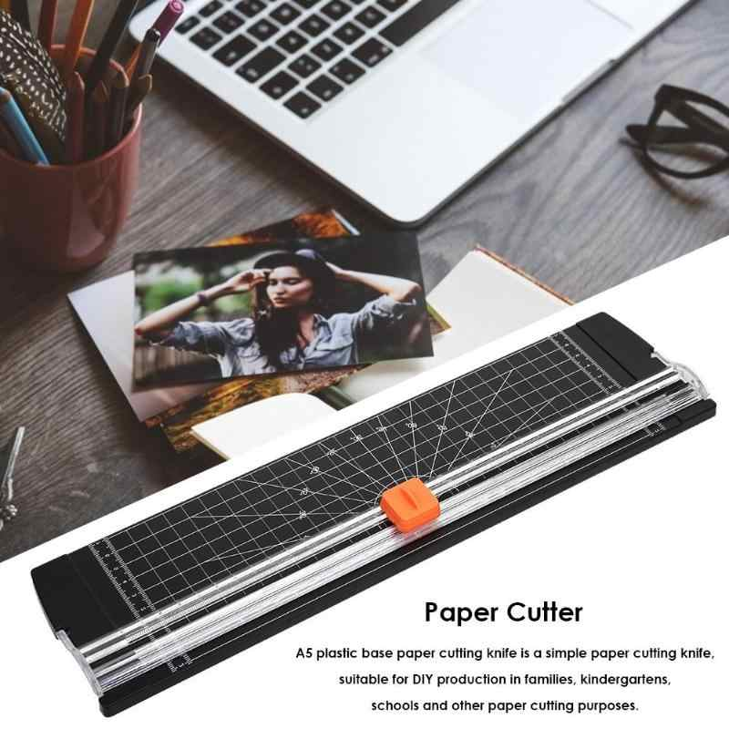 A4 Mesin Pemotong Kertas Paper Cutter Seni Pemangkas Kerajinan Foto Scrapbook Pisau Diy Office Home Pisau Alat Tulis