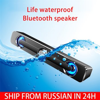 2020 Bluetooth USB Wired Powerful Computer Speaker TV Sound Bar Stereo Subwoofer Bass speaker Surround Box for PC Laptop Tablet edifier e25hd heavy bass multimedia speaker with enhanced sound for laptop pc computer system 3d stereo music mini speaker